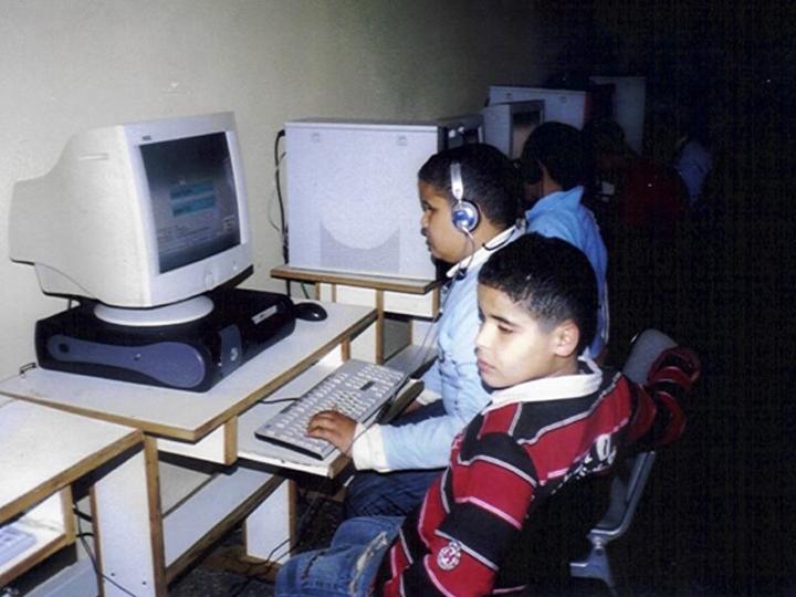 Cours d'informatique pour les enfants non-voyants