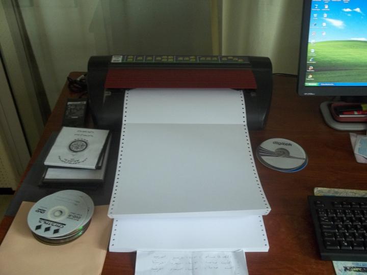 impression en braille de tout type de documents texte